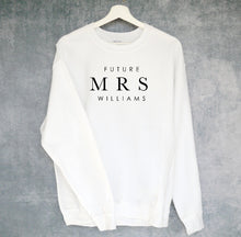 Future MRS. -Customized Bridal Crew Neck