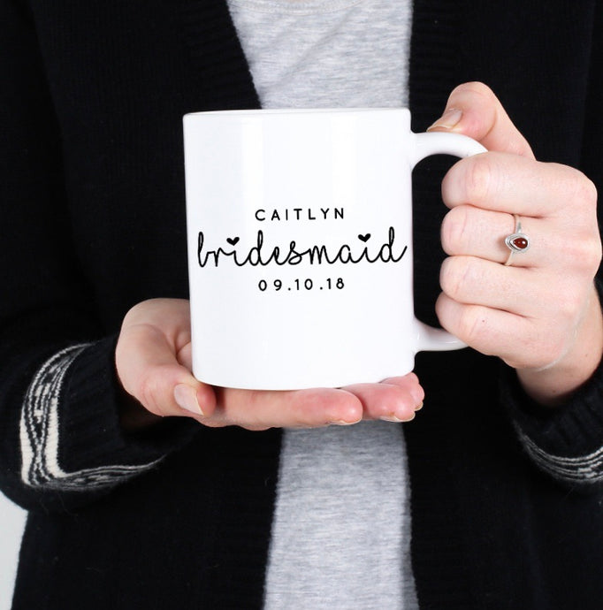 Bridesmaid Proposal Personalized Mug