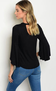 Black bell sleeve #90