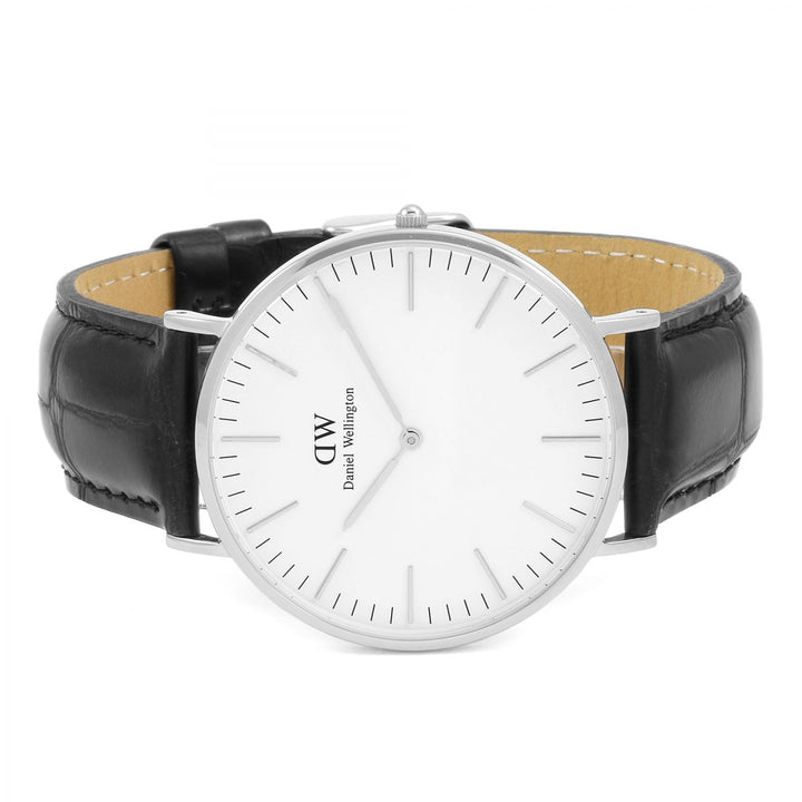 Daniel Wellington Classic Reading 40mm Men's Silver Watch
