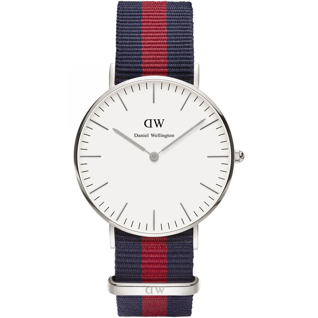 Daniel Wellington Classic Oxford 36mm Women's Silver Watch