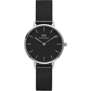 Daniel Wellington Petite Ashfield 28mm Women's Silver Watch DW00100246