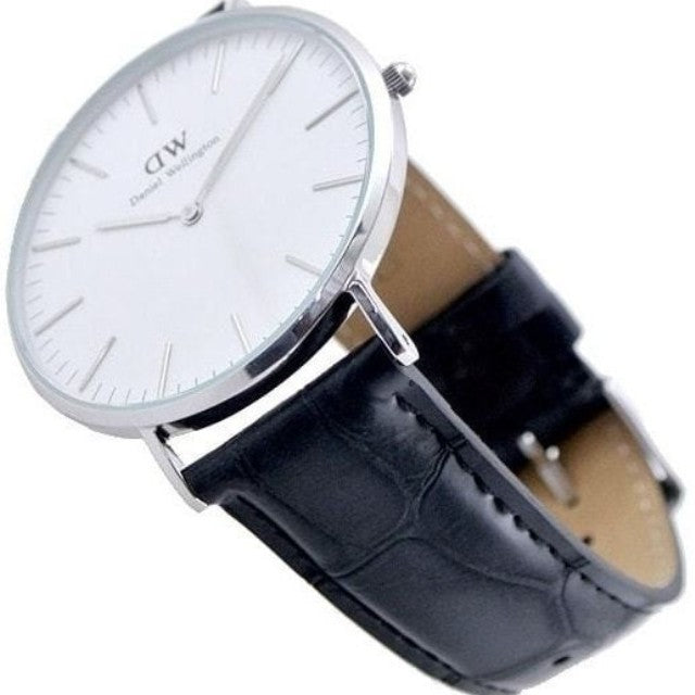 Daniel Wellington Reading 36mm Women's Silver Watch DW00100058