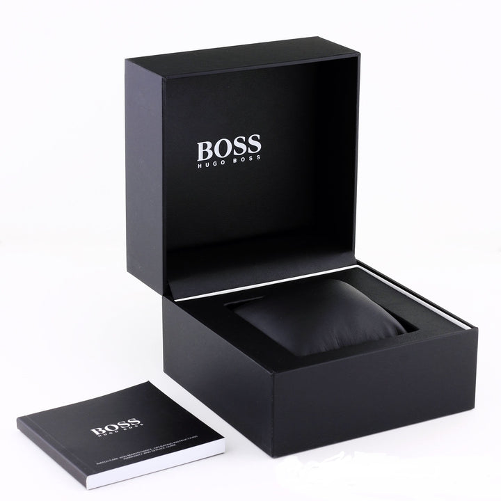 Hugo Boss Aeroliner Chronograph Black Dial Men's Watch 1513180