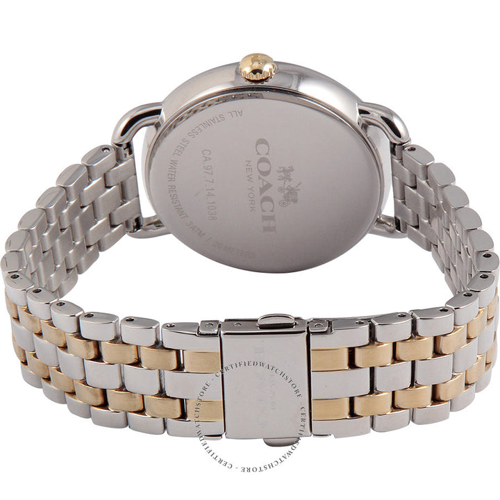 Coach Delancey Champagne Dial Two-Tone Ladies Watch 14502263
