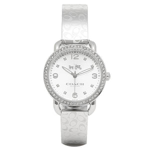 Coach Delancey Silver Dial Stainless Steel Ladies Watch 14502353