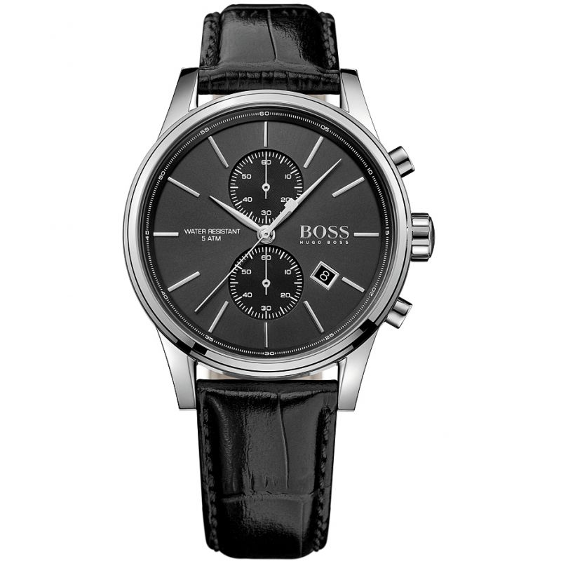 Hugo Boss Jet Chronograph Black Dial Men's Watch 1513279 Water resistance: 50 meters / 165 feet Movement: Quartz