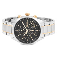 Hugo Boss Grand Prix Chronograph Black Dial Men's Watch 1513473 Water resistance: 30 meters Movement: Quartz