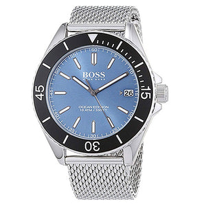 Hugo Boss Ocean Edition Blue Dial Men's Watch 1513561 Water resistance: 100 meters Movement: Quartz