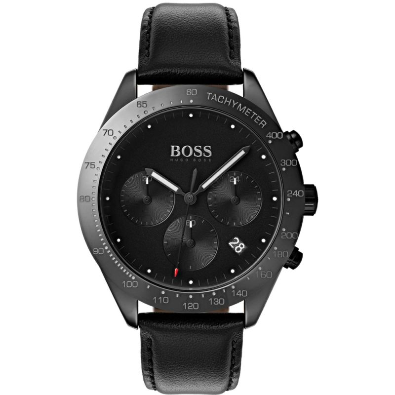Hugo Boss Talent Chronograph Black Dial Men's Watch 1513590 Water resistance: 50 meters Movement: Quartz