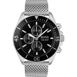 Hugo Boss Ocean Edition Chronograph Black Dial Men's Watch 1513701 Water resistance: 100 meters / 330 feet Movement: Quartz