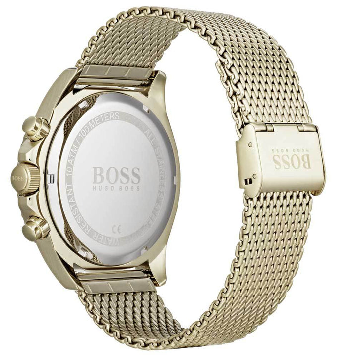 Hugo Boss Black & Gold Ocean Edition Men's Watch 1513703 Water resistance: 100 meters / 330 feet Movement: Quartz