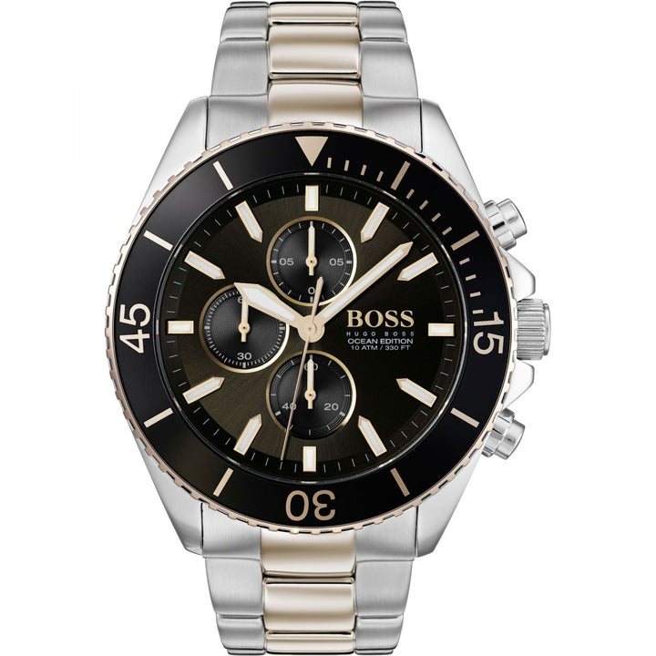 Hugo Boss Ocean Edition Chronograph Two-Tone Men's Watch Water resistance: 100 meters / 330 feet Movement: Quartz