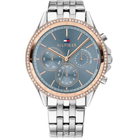 Tommy Hilfiger Crystal Blue Dial Watch 1781976