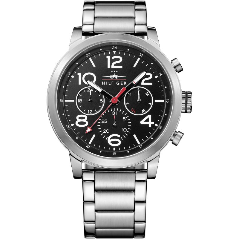 Tommy Hilfiger Jake Chronograph Black Dial Men's Watch 1791234