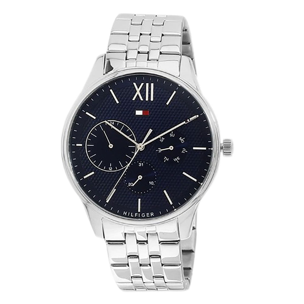 Tommy Hilfiger Blue Dial Stainless Steel Men's Watch 1791416