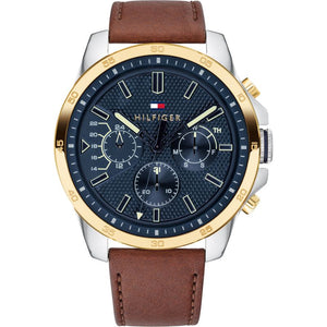 Tommy Hilfiger Decker Chronograph Blue Dial Men's Watch 1791561