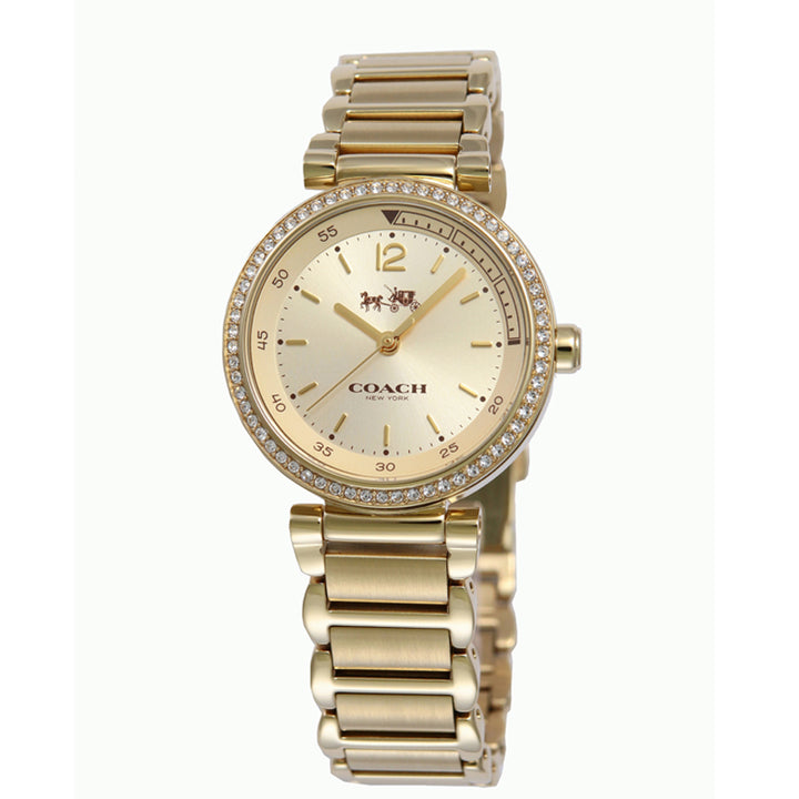 Coach 1941 Sport Gold Dial Stainless Steel Ladies Watch 14502195