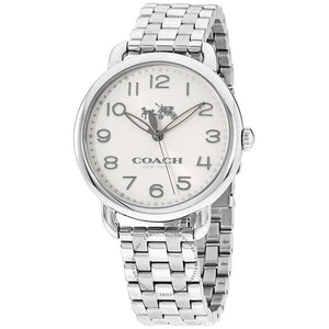 Coach Delancey Silver-Tone Stainless Steel Women's Watch 14502260