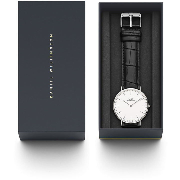 Daniel Wellington Reading 40mm Men's Silver Watch DW00100028