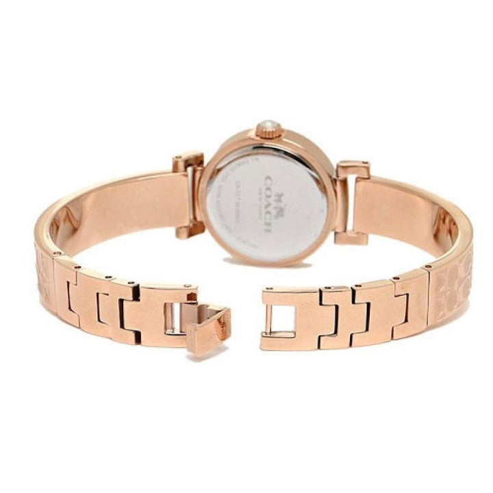 Coach Madison Rose Gold Dial Stainless Steel Ladies Watch 14502203