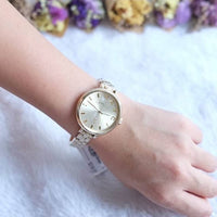 Marc Jacobs Sally Champagne Dial Gold-tone 36mm Ladies Watch