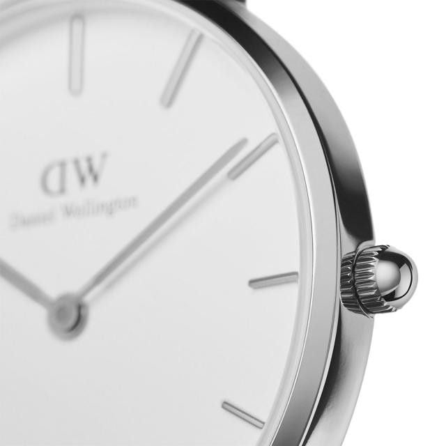 Daniel Wellington Petite Bristol 28mm Women's Silver Watch DW00100183