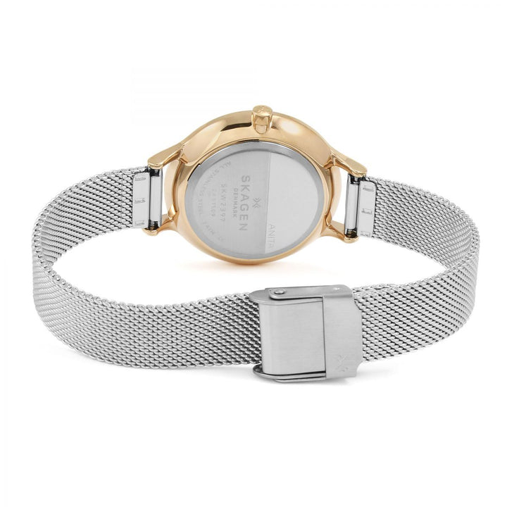 Skagen Anita Silver Stainless Steel Mesh Ladies Watch SKW1069