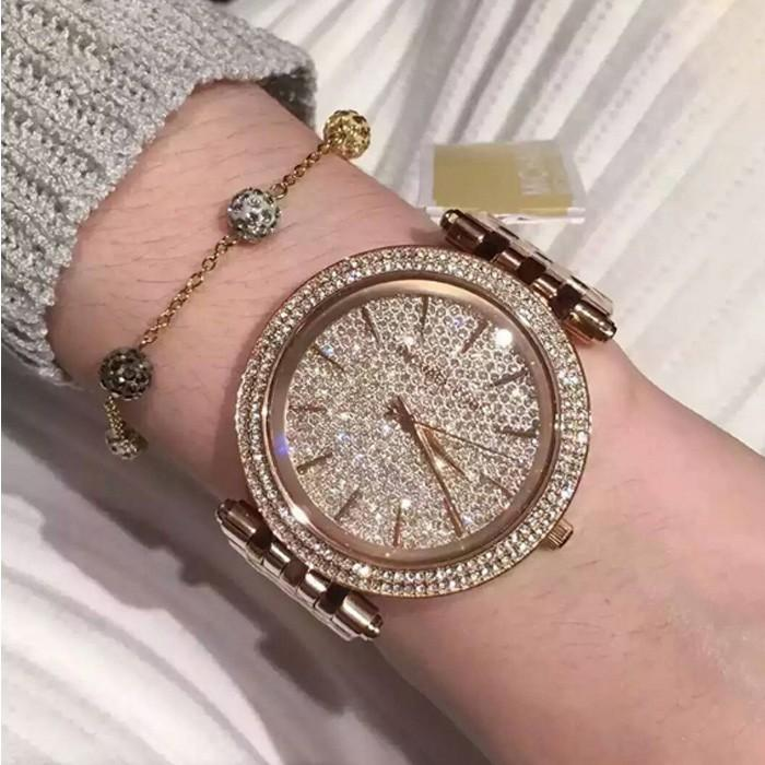 Michael Kors Darci Rose Gold-tone Stainless Steel Ladies Watch MK3399