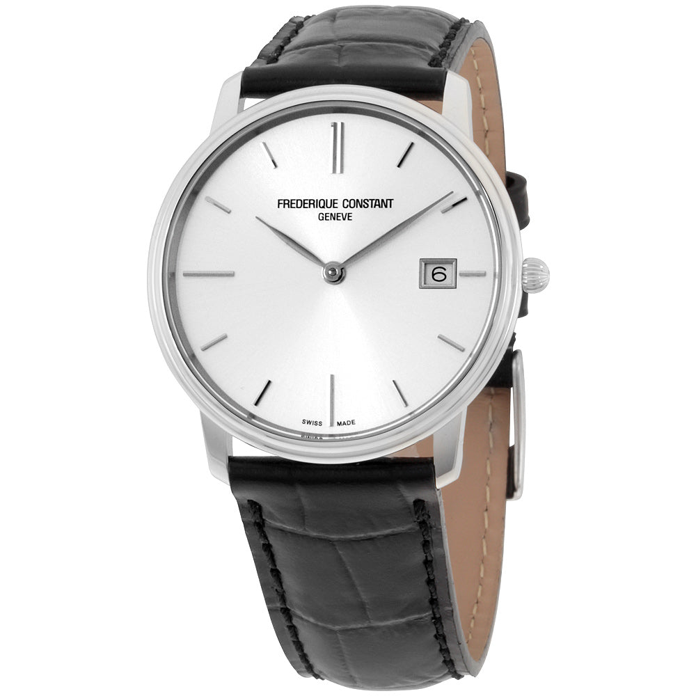 Frederique Constant Slim Line Silver Dial Men's Watch FC-220NS4S6