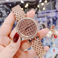 Michael Kors Darci Rose Gold Ladies Watch MK3399