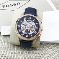 Fossil Grant Automatic Multi-Function Skeletal Dial Men's Watch ME3029