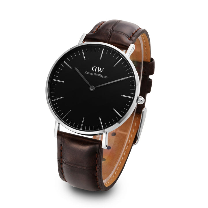 Daniel Wellington York 40mm Men's Silver Watch DW00100134