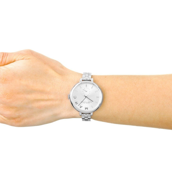 Marc Jacobs Sally Silver Dial 36mm Ladies Watch