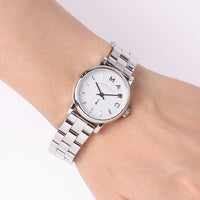 Marc Jacobs Baker White Pearlized Dial 28mm Ladies Watch