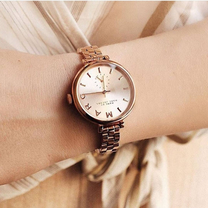 Marc Jacobs Sally Rose Dial 36mm Ladies Watch