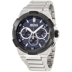 Hugo Boss Supernova Chronograph Blue Dial Men's Watch 1513360 Water resistance: 50 meters Movement: Quartz