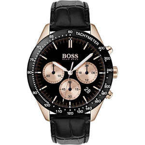 Hugo Boss Talent Chronograph Black Dial Men's Watch 1513580 Water resistance: 50 meters Movement: Quartz