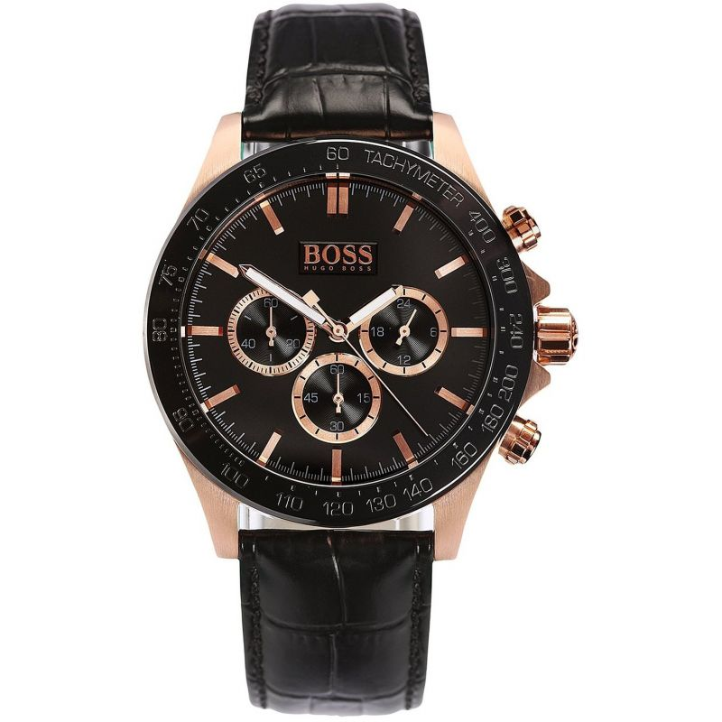 Hugo Boss Chronograph Black Dial Men's Watch 1513218