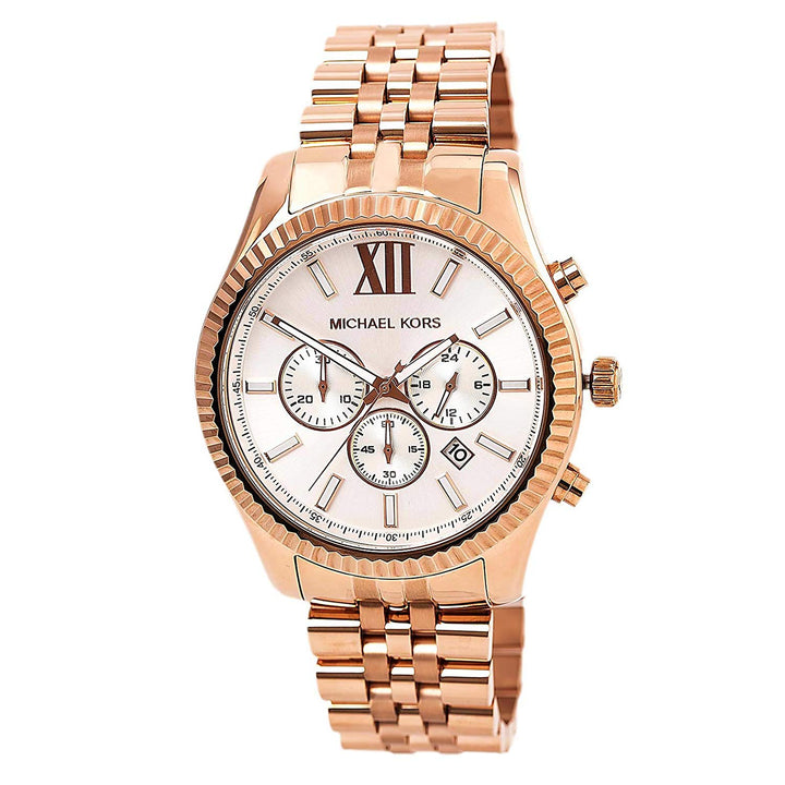 Michael Kors Lexington Chronograph Dial Watch MK8313 - Big Daddy Watches