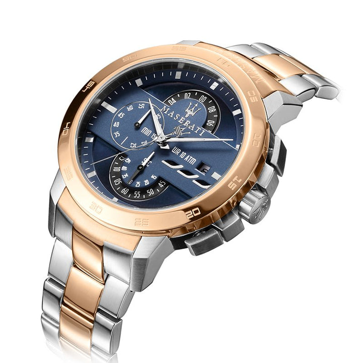 Maserati Ingegno Chronograph Blue Dial Men's Watch R8873619002