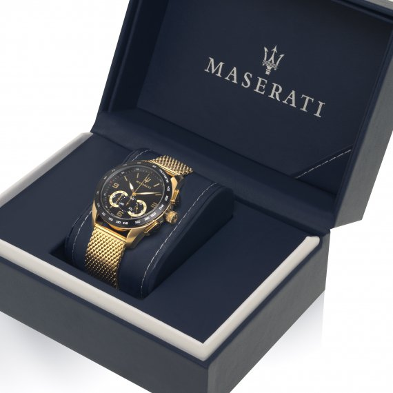 Maserati Traguardo Chronograph Black Dial Men's Watch R8873612010