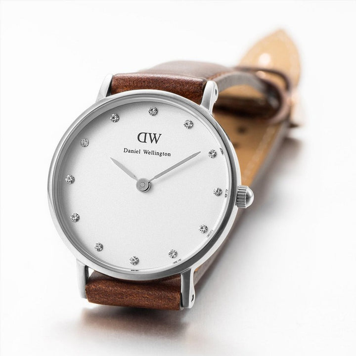 Daniel Wellington Classy St Mawes 34mm Women's Silver Watch DW00100079