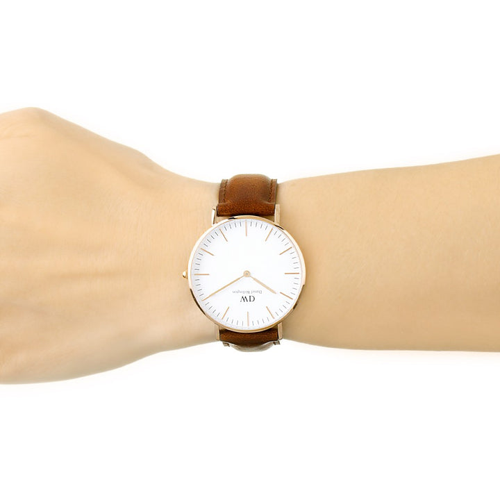 Daniel Wellington St Mawes 36mm Women's Gold Watch DW00100187