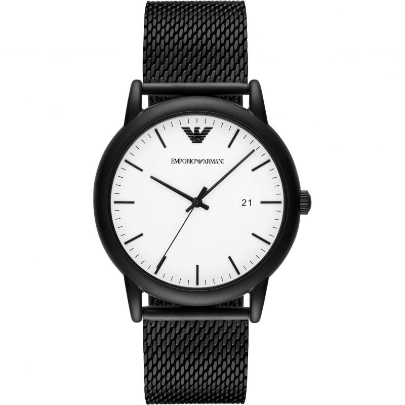 Emporio Armani Luigi White Dial Men's Watch AR11046
