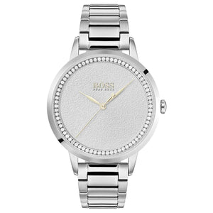 Hugo Boss Twilight Silver Dial Stainless Steel Ladies Watch 1502462