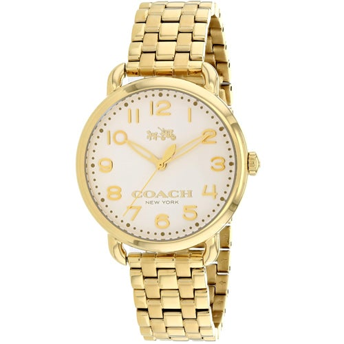 Coach Delancey Gold-Tone Stainless Steel Women's Watch 14502261