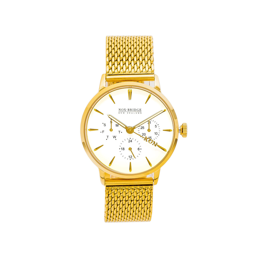 NOX-BRIDGE Supreme Vela Gold 36MM
