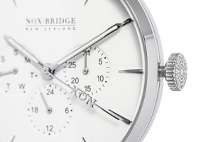 NOX-BRIDGE Classic Izar Silver 41MM