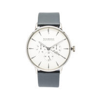 NOX-BRIDGE Classic Alcyone Silver 41MM
